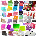 Keyboard Cover+Rubber Coated Hard Shell Case for MacBook Mac Pro 13 15 Air 11 12