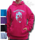 NATIVE PONY HORSE RIDING Equestrian HOODIE All size,s NATIVE PONY-&-WORDING