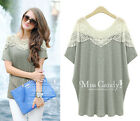 NEW SUMMER WOMEN BOHO HIPPIE CHIFFON SHIRT TOPS DRESS 7 Colors PLUS SIZE