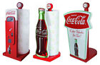 Coca Cola / Coke Wooden Shaped Kitchen Roll Holder / Stand - New Official In Box