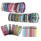 Colorful Large Small Replacement Wrist Band + Clasp for Fitbit Flex Bracelet