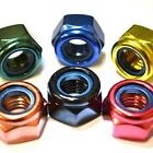 M4 GWR Colourfast® Hex Nyloc Nuts - A2 Stainless Steel - Coloured Hexagon Nut