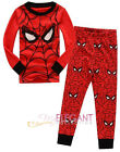 Spiderman Enfants Vêtements Garçons Pyjamas Costume Boys Kids Pajama 2-7 Rouge