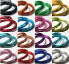 Aluminium Jewellery Craft Wire 0.8mm 1mm 1.5mm 2mm 20 Colour Choice 10mtrs - 6mt