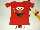 New Elmo Sesame Street Toddler Boys 12 months - 5T 2 piece pajamas