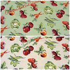 COLESLAW VEGETABLES FABRIC~2 COLORS~U-PICK~BY THE 1/2 YD~COTTON~WILMINGTON