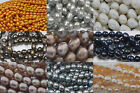 6-12MM drilled Rice freshwater pearl DIY jewelry making limited offer