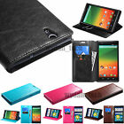 For ZTE Phones Leather Flip Wallet Case Cover Stand  Zmax Grand X Max+ Speed
