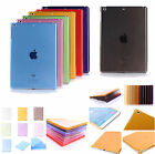 Clear slim Hard & Soft Case Cover Back Shell For Apple iPad Air 1 Air 2 tablet