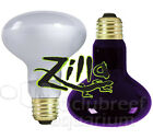 Zilla Day-White Black 50 W 75 100 150 Watt Heat Light Reptile Spot Bulb