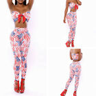CHEAP FREE SHIP Sexy Lady Tube Tops+Long Pants 2pcs Set Evening Prom Party Dress