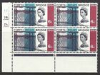 WP55b & CWS103a 1964 Forth Road Bridge 3d (phos) - Listed Flaws - NB - MNH