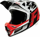 FOX RAMPAGE BIKE HELMET PRO CARBON BLACK/WHITE