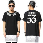 Extended Paisley UNDERATED BRKLYN CLIQUE 53 Skirt 2 Zipper T Shirt Tee Jersey