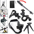 PS Bike/Helmet/Tripod Mount+Monopod F Sony FDR-X1000V HDR-AS200/100/30/20V AZ1VR