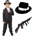 CHILD GANGSTER COSTUME BOYS 1920S FANCY DRESS THEATRE STAGE SHOW PRODUCTION