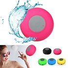 Waterproof Bluetooth Mini Speaker Player Car Shower Bath Wireless Handsfree Gift