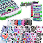 Hybrid Hard Case Tuff Protective Cover for LG Phones G4 G Stylo Leon Volt 2