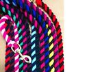 Cotton English made lead rope ( pony equestrian childs kids )