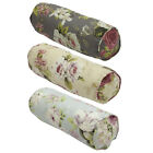 Scatter Box Evelyn Floral Piped Bolster Cushion, 15 x 43 Cm