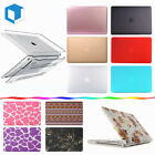 """Macbook Case For Apple Laptop Air Pro Retina 11"""" 13"""" 15"""" New12"""" Rubberized Cover"""