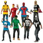 Superhero Shirts Adult T-Shirt Costume Marvel Halloween Fanc