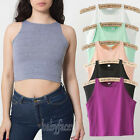 Sexy Lady Crop Belly Top Vest Sleeveless Midriff Shirt Blouse Top Tank 6 Colors