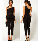 Fashion Womens Bodycon Bondage Slim Dress Sexy party Cocktail Jumpsuit Rompers