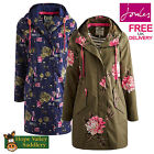 Joules Raina Ladies Waterproof Parka Coat (S) **BNWT** **FREE UK SHIPPING**