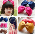 Best Girls Cute Head Band Big Bow-knot Headwear 5 Colors CAFM