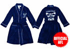 Adult Mens Ladies AFL Licensed Fleece Dressing Gown Robe OSFA Geelong Cats