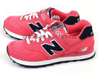 New Balance WL574POP B Pink & Navy & White Lifestyle Retro Classic Casual NB