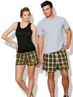 University of Iowa Boxer Shorts HAWKEYE Boxers Men Ladies SLEEP SHORTS PAJAMAS