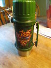 Rare Classic Joes  Camel fish & game club Thermos