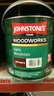Johnstones Trade Satin Finish Woodstain Woodworks Mahogany Pine Oak all colours