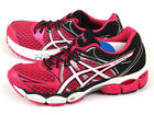 Asics GEL-Pulse 6 Hot Pink/White/Onyx 2015 Stability Running Shoes T4A8N-2001