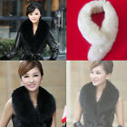 New Style Women Winter Fashion Luxury Simulation Fox Fur Collar Scarf Shawl Wrap