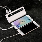 10000mAh Portable Power bank 2 USB Battery Charger For iPhone 8 Android Phones