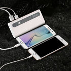 Portable 10000mAh Power bank 2 USB Battery Charger For iPhone 8 Android Phones