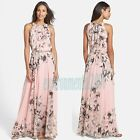 Women Lady Long Summer Boho Maxi Dress Chiffon Bohemia Beach Casual Party Dress