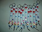 I LOVE MY DOG - KEY CHAIN - 37 BREEDS TO CHOOSE FROM -- QUANTITIES LIMITED *