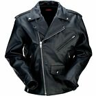 Z1R Men's 9MM Jacket Leather Black