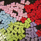 20 x Resin Butterfly Buttons 16mm x 13mm two holes - various colours