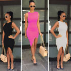New Fashion Women Sexy Sleeveless Party Cocktail Club Wear BodyconPencil Dress