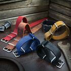 ZULUDIVER Genuine Leather Watch Strap Suede Type NATO 20 22mm