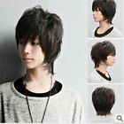 mens wigs human hair long - 100% natural human hair men mens long toupee full wig wigs,easy to be restyled