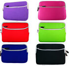 """Universal Zipper Neoprene Carry Sleeve Pouch Case Cover for 7"""" Tablets e-Readers"""