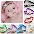Toddler Tiara Pearl Rhinestone Crown baby headbands Girls' Princess Headwear
