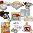 Multiple Styles Cake Pan Decorating Sugarcraft Baking Tin Bakeware Tray Tools #t