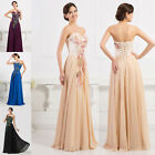 New Plus Size Formal Evening Bridesmaid Party Wedding Ball Gown Long Prom Dress